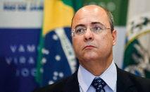 O depoimento do ex-governador do Rio de Janeiro Wilson Witzel está marcado para esta quarta-feira (16) (Mauro Pimentel/AFP)
