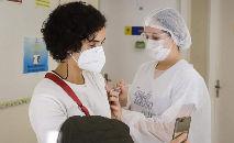 Vacinação contra Covid de profissionais da educação básica em São Paulo (Govesp)