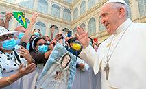 Papa Francisco durante a Audiência Geral do dia 16 de junho (Vatican News)