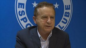 Mediolli quer ajudar o Cruzeiro a superar a crise (Reprodução TV Globo)