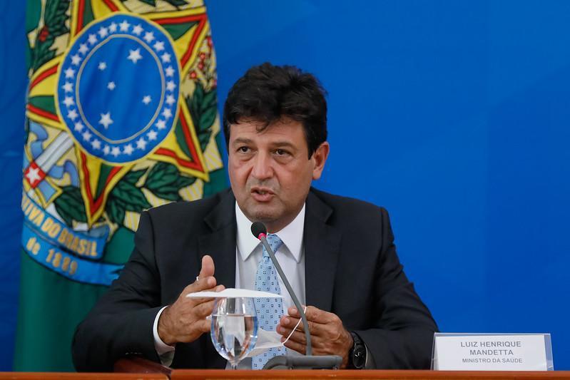 Luiz Henrique Mandetta lidera movimento iniciado nesta quarta-feira