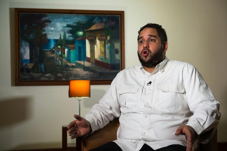 (Arquivo) O deputado Nicolás Maduro Guerra, filho do presidente venezuelano