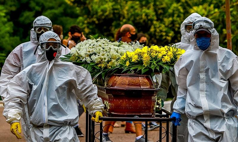 Nas últimas 24 horas, o Brasil também notificou 98.135 novos casos da doença