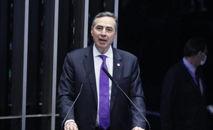 Barroso declarou que a vida institucional não pode ser palanque e que as autoridades precisam ser responsáveis pelo que dizem (TSE / Divulgação / CP)