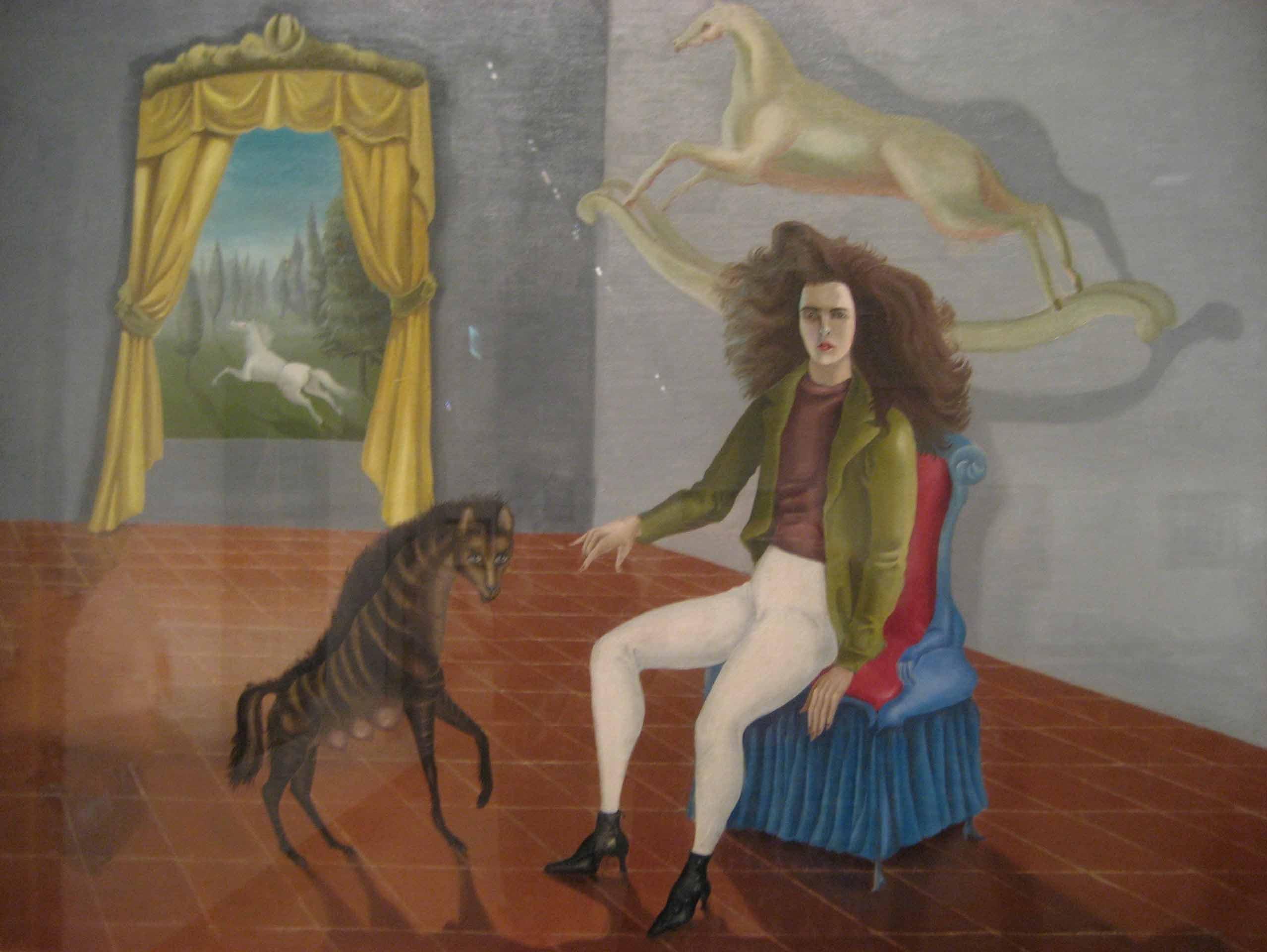Aurorretrato de Leonora Carrigton: símbolos e metáforas de uma artista surrealista