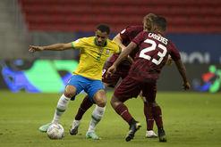 Seleção da Venezuela teve surto de Covid-19 no elenco (Lucas Figueiredo/CBF)