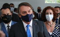 Bolsonaro disse existir uma 'jogada política' para inflar o número de mortes causadas pela pandemia, com o objetivo de provocar desgaste à sua gestão (Isac Nóbrega/PR)
