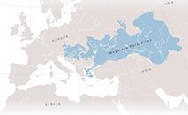 Area ocupada pelo megalago Paratethys, segundo o estudo (Acervo dos pesquisadores)