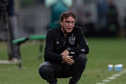 Cuca sofreu com vários desfalques e com futebol ruim do time (Pedro Souza / Atlético)