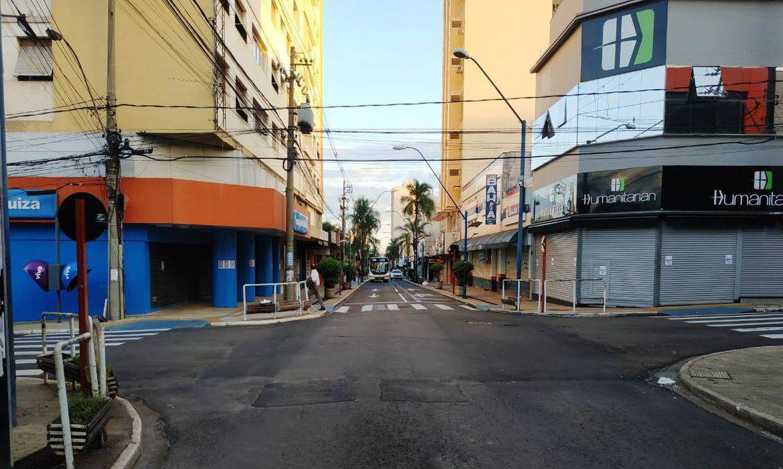 Cidade de Araraquara, no interior de São Paulo