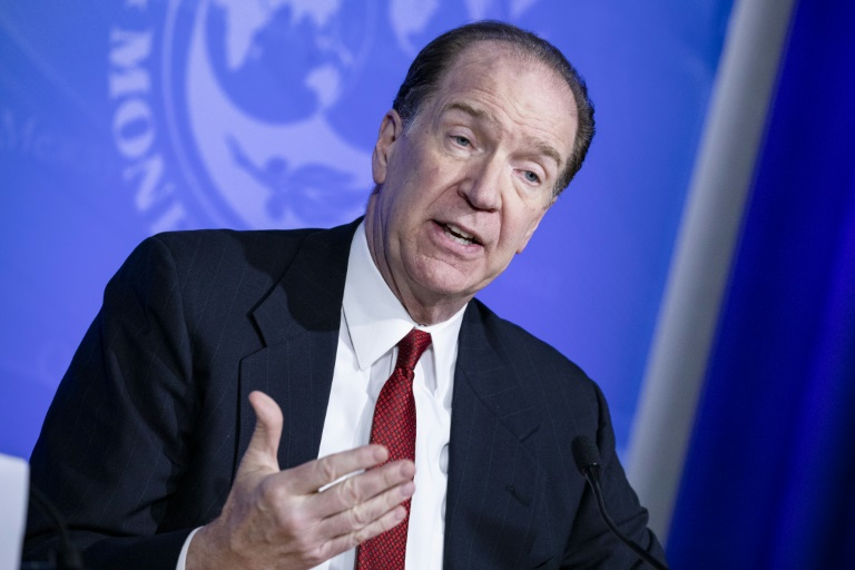 O presidente do Banco Mundial, David Malpass, em 4 de março de 2020 em Washington