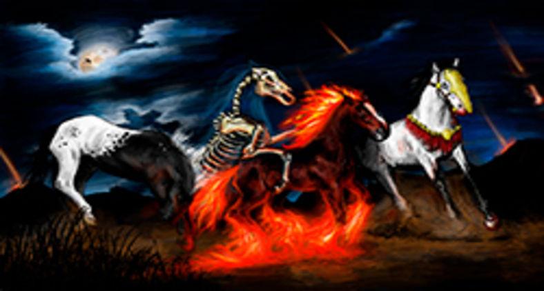 Figuras do Apocalipse de João são simbólicas (Pixabay)