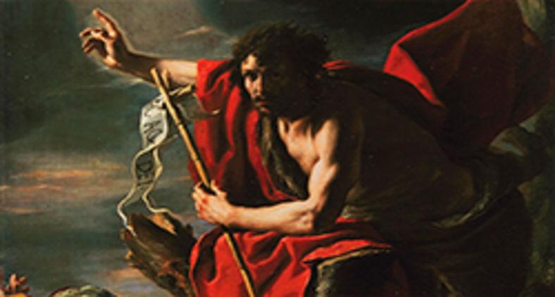 Quadro 'Pregação de São João Batista', de Mattia Preti, retratando o último profeta anterior a Jesus (Wikimedia)
