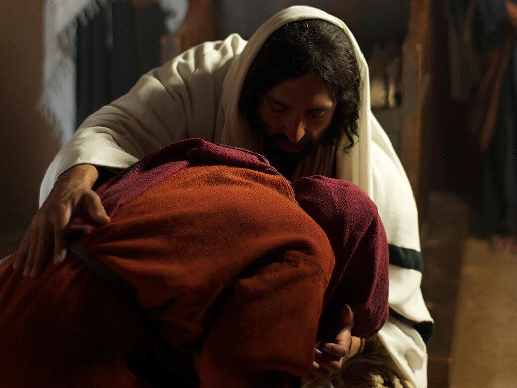 Nas narrativas dos evangelhos podemos elencar várias passagens em que Jesus revela a bondade e a ternura do seu coração