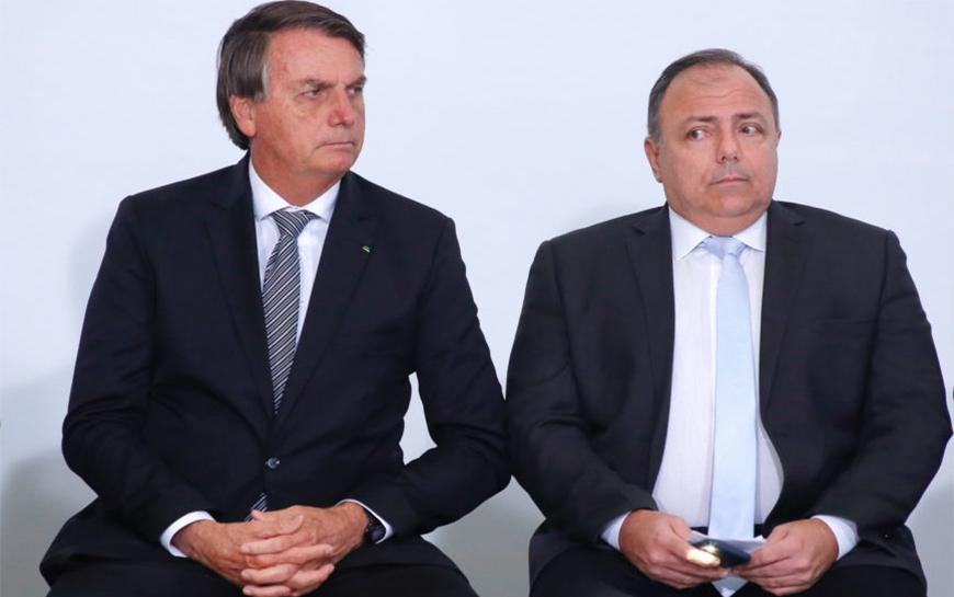 De acordo com os governistas, o chefe do Planalto acionou Pazuello no dia 22 de março, dois dias após a reunião com Luis Miranda