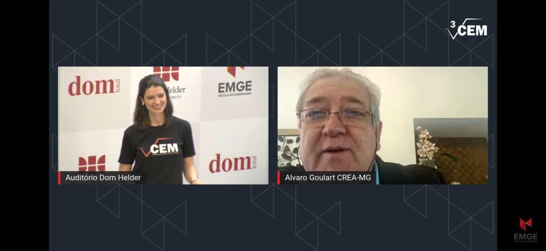 Live de apresentação do CEM
