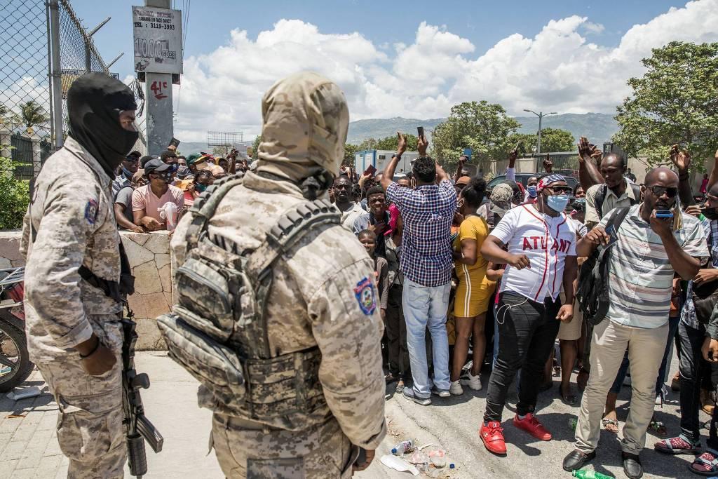 Nos últimos anos, o Haiti se tornou um centro de contrabando de drogas da América do Sul para os Estados Unidos