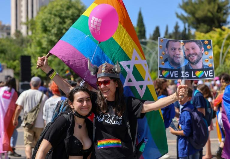 Parada do orgulho gay realizada em junho, em Israel.
