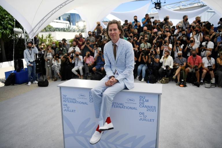 O diretor Wes Anderson posa para fotógrafos no Festival de Cinema de Cannes