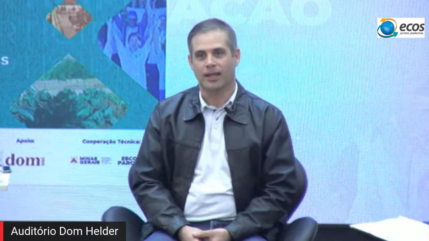 Willio Campos, mediador da live.