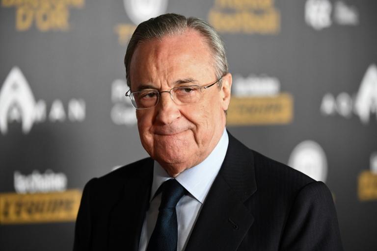 Florentino Perez, presidente do Real Madrid