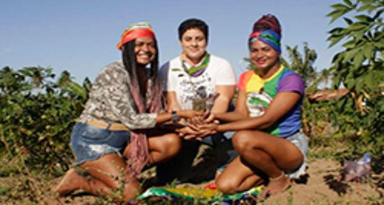 MST realiza semeadura de árvores em memória e pedindo  justiça por Lindolfo Kosmalski, jovem camponês assassinado por motivação homofóbica, e por todas as vítimas ceifadas pela LGBTfobia no Brasil e no mundo (MST-RN)