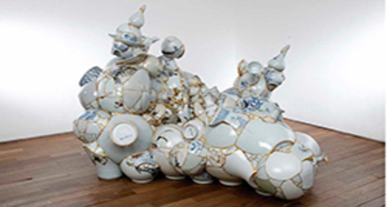 Obra 'Translated Vase' de Sookyung Yee (Korean Art Museum Association)