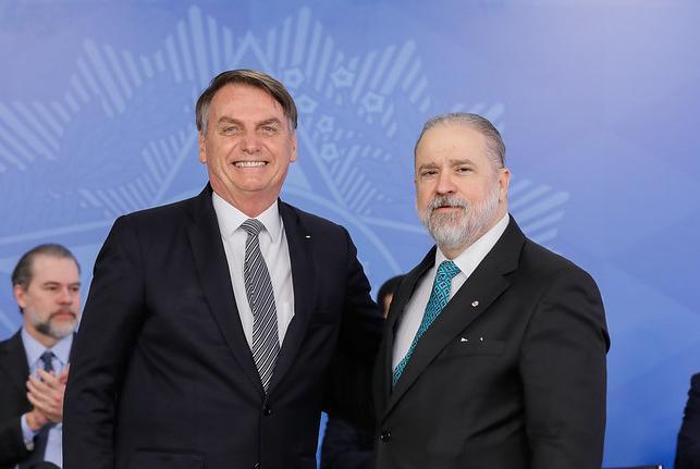 Augusto Aras tem atuação alinhada com os interesses do Planalto