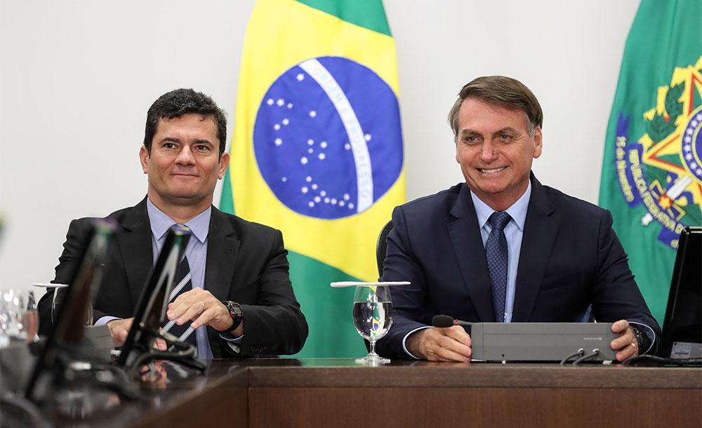 Sérgio Moro acusou Bolsonaro de fazer uso político da PF