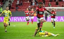 A partida é a primeira disputada entre clubes com a presença de público (Alexandre Vidal / Flamengo)