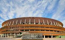 O Estádio Olímpico, que teve seu projeto alterado por causa dos custos (Tokyo2020/Divulgação)