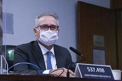 Braga Netto foi colocado onde está para 'ameaçar as instituições democráticas', diz Renan (Edilson Rodrigues/Agência Senado)