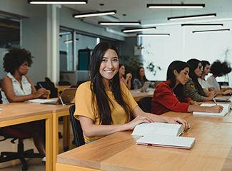A Dom Helder e a EMGE também são parceiras dos programas de financiamento estudantil Pravaler e Creditar Universitário. (Quartel Design / Dom Helder e EMGE)