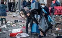 Lojas e shoppings foram saqueados e depredados: polícia investiga possível teor político (AFP)