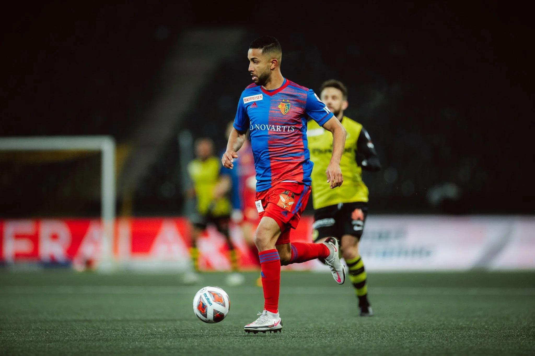 Jorge jogou pelo Basel-SUI na temporada 2020/21