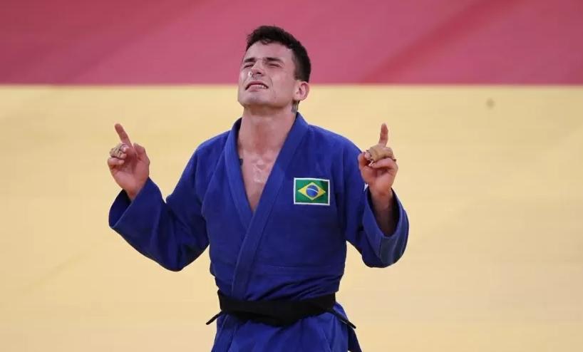 Daniel Cargnin conquistou o bronze no judô e somou a segunda medalha para o Brasil nas Olimpíadas