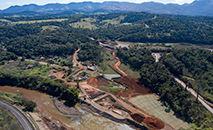 Processo de reflorestamento em 2020 (Divulgação/Vale)