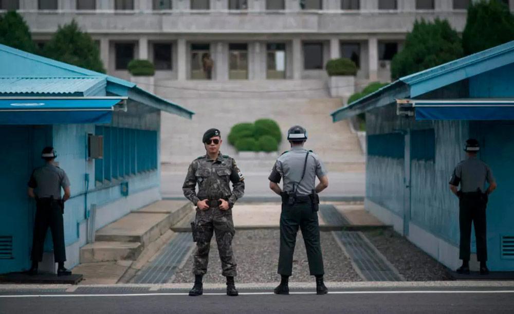 A fronteira da península é mais militarizada do mundo: 28,5 mil americanos em bases no Sul