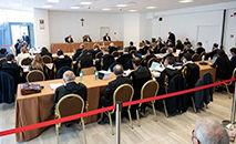 A sala de audiência nos Museus Vaticanos (Vatican News)