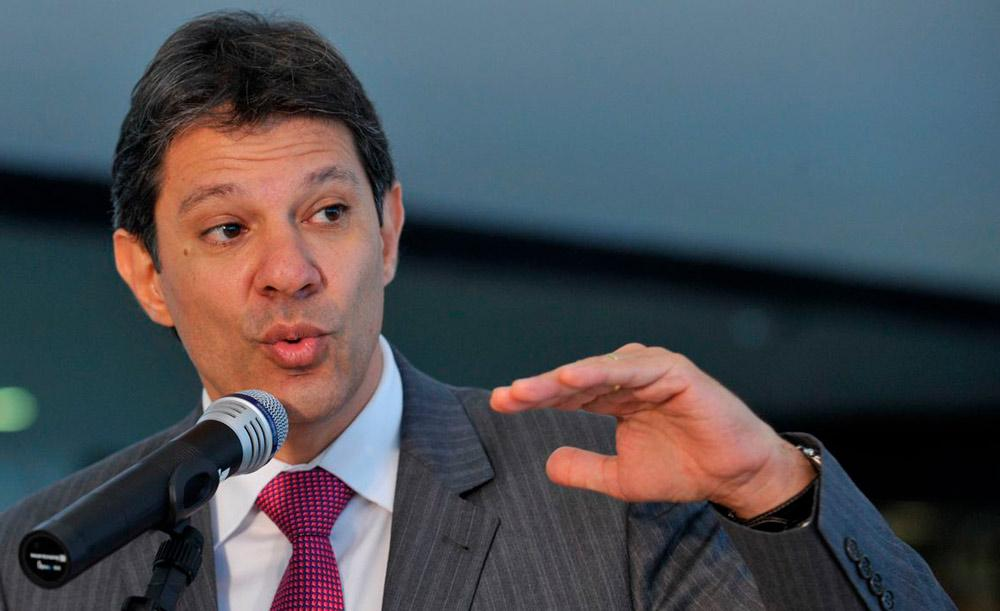 Acusação contra Haddad era sobre a campanha para a Prefeitura de São Paulo, em 2012