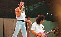Show da banda Queen, no LiveAid, em 1985 (YouTube/Reprodução)