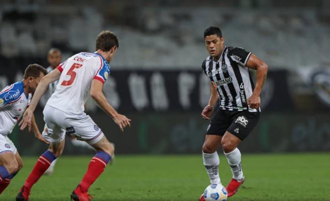 Com gols de Zaracho e Hulk, o Galo derrotou seu adversário por 2 a 0