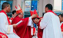 Ordenação episcopal de dom Li Hui, na China (Vatican News)