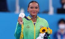Brasileira escreveu o nome na história do esporte brasileiro (Ricardo Bufolin/CBG)