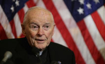 O ex-cardeal americano Theodore McCarrick (Chip Somodevilla/AFP)