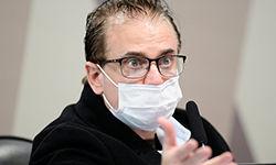 Comissão Parlamentar de Inquérito da Pandemia realiza oitiva do procurador da empresa Davati Medical Supply no Brasil (Pedro França/Agência Senado)