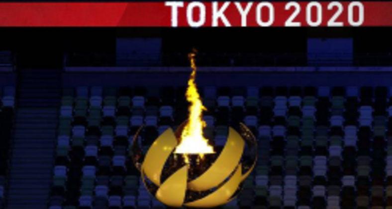 Cerimônia de abertura dos Jogos Olímpicos de Tóquio 2020 (Breno Barros/rededoesporte.gov.br/FotosPúblicas)