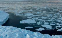Liberação de água doce por derretimento do gelo pode afetar clima em todo o planeta (Torsten Blackwood/AFP)