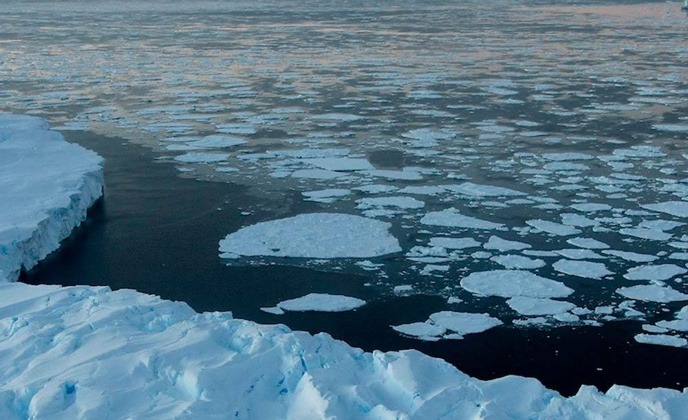 Liberação de água doce por derretimento do gelo pode afetar clima em todo o planeta