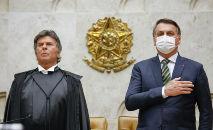 Relação entre os Poderes está tensa em razão dos ataques de Bolsonaro contra a democracia (Fellipe Sampaio/SCO/STF)